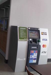 ATM at San Jose to Montezuma direct bus station